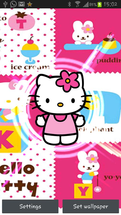 506x900px Free Hello Kitty Live Wallpaper Wallpapersafari
