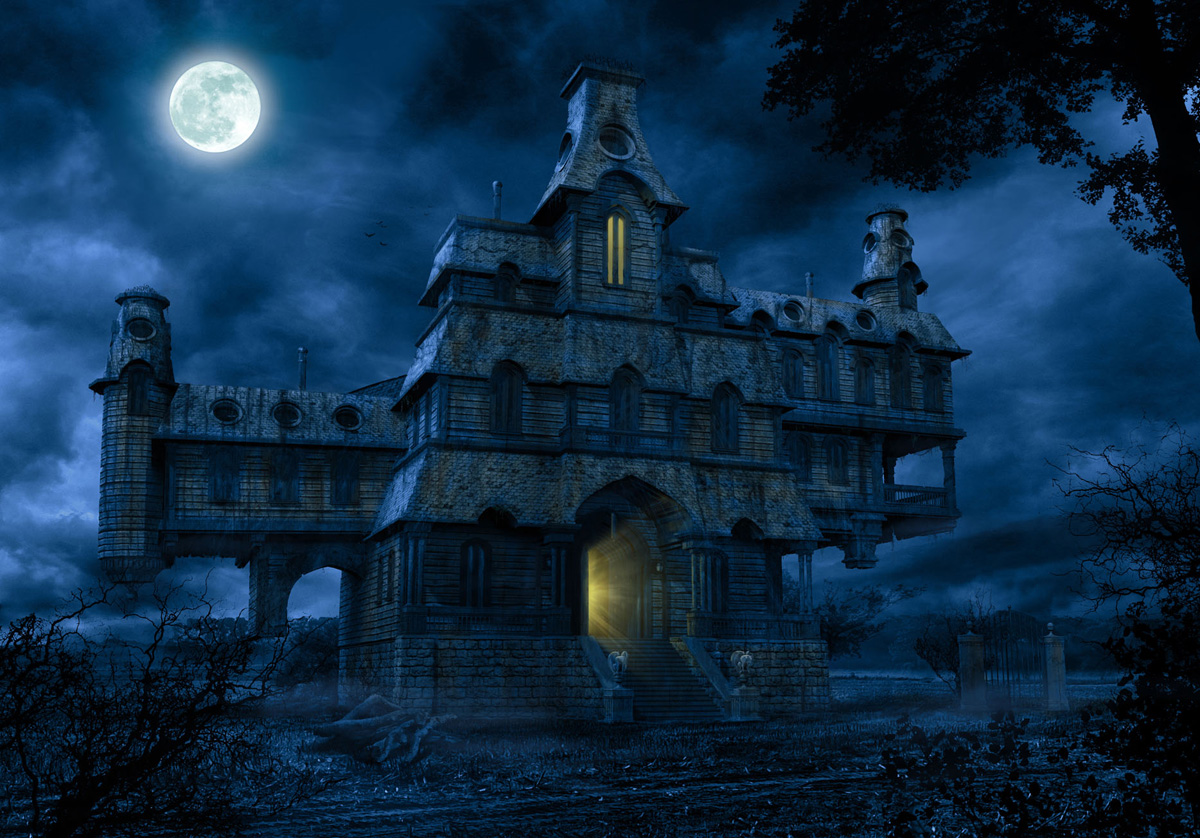 Gallery For gt A Haunted House Wallpaper 1200x838