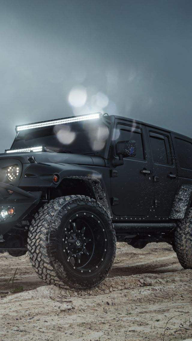 jeep wrangler black Cars Bikes