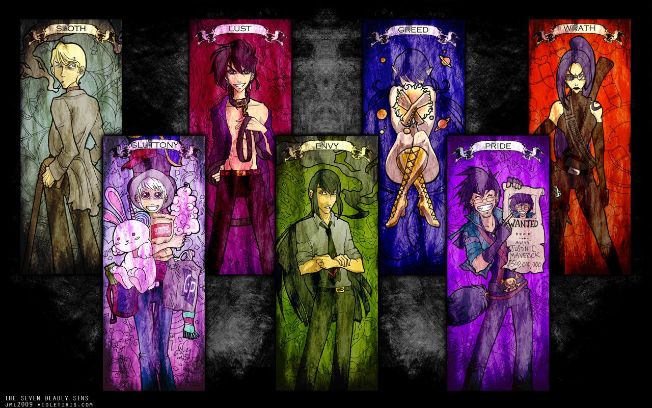 Free Download Deadly Sins Wallpapers 1280x800 For Your