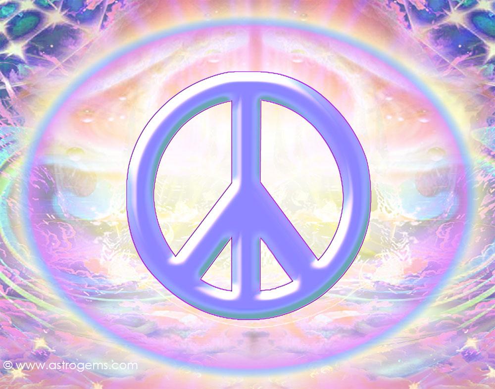 PS85 Peace sign wallpaper 1000x786