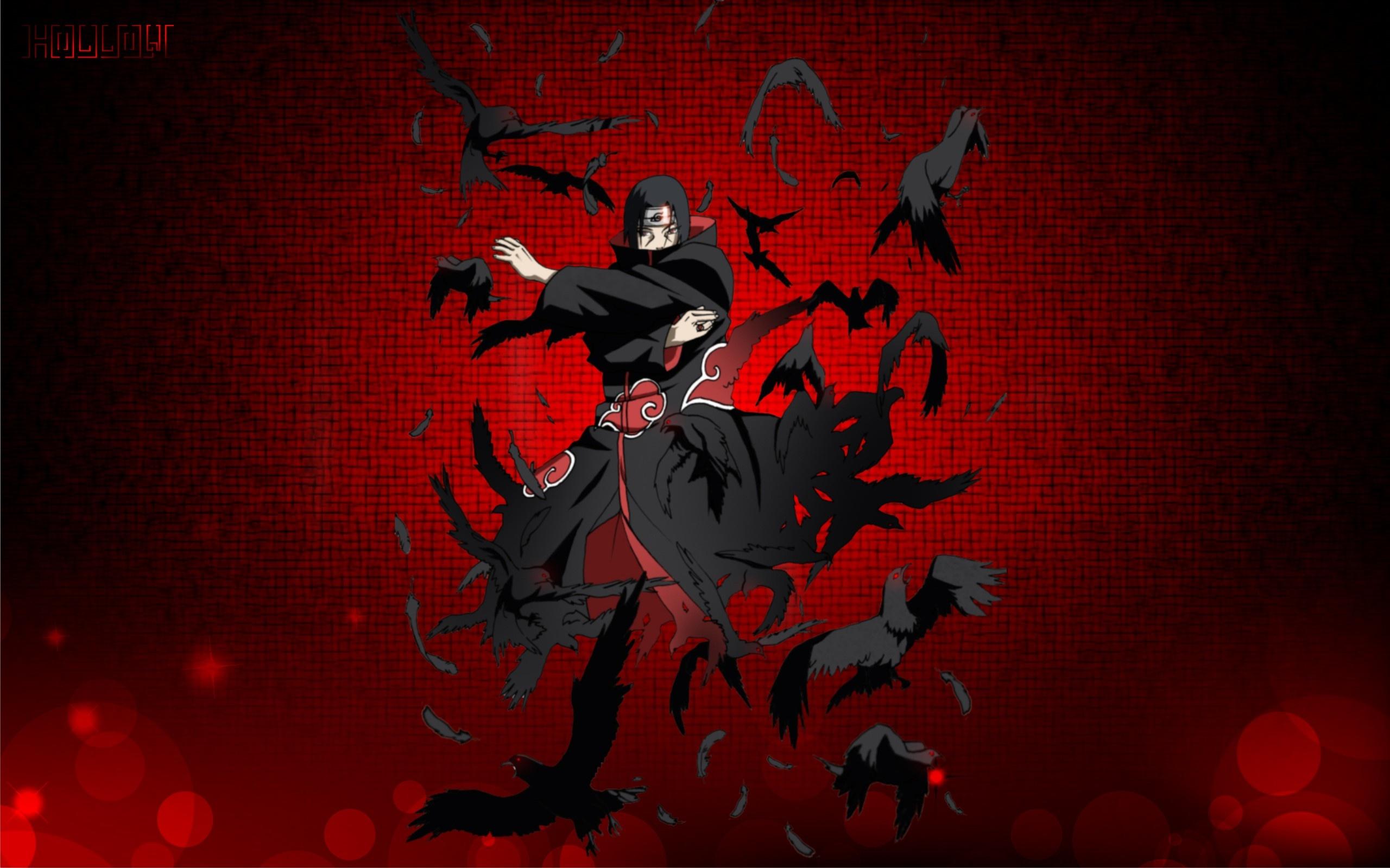 Naruto   Itachi Uchiha is a great wallpaper for your computer desktop 2560x1600