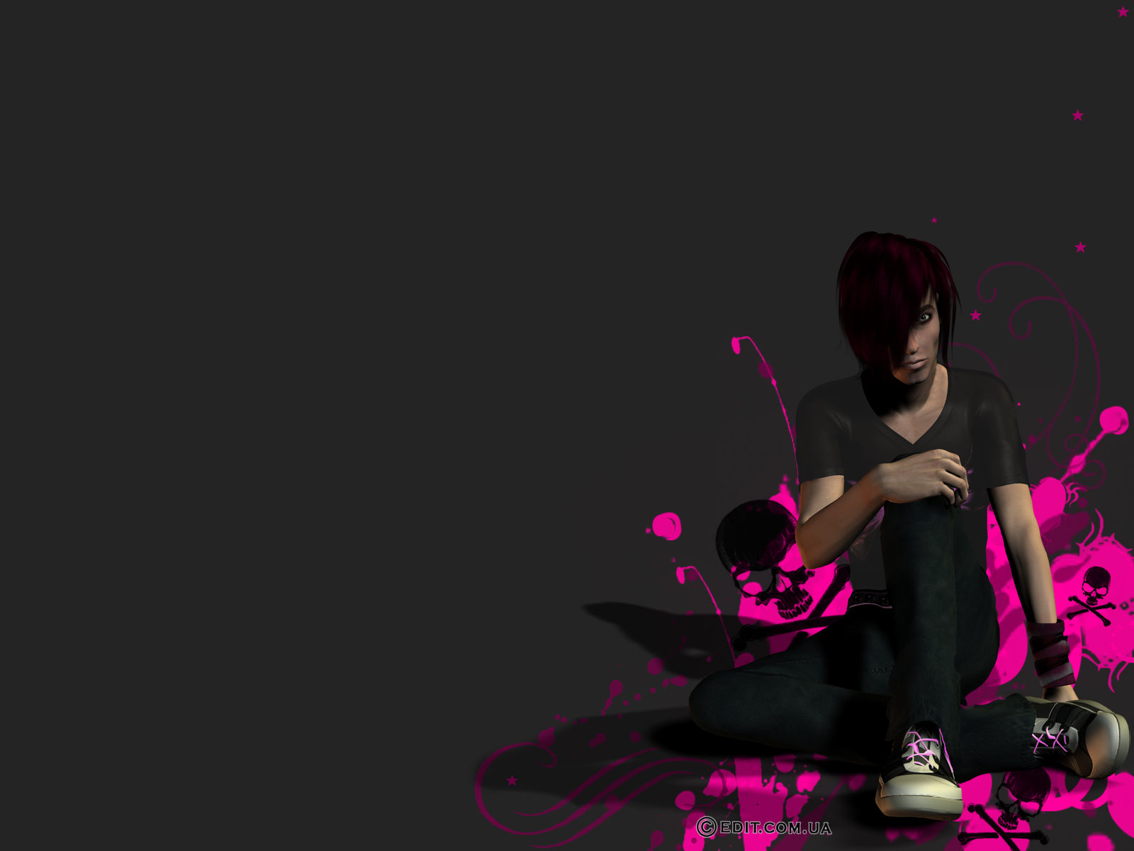 emo love wallpaper fantastic emo love wallpaper fantastic emo 1600x1200