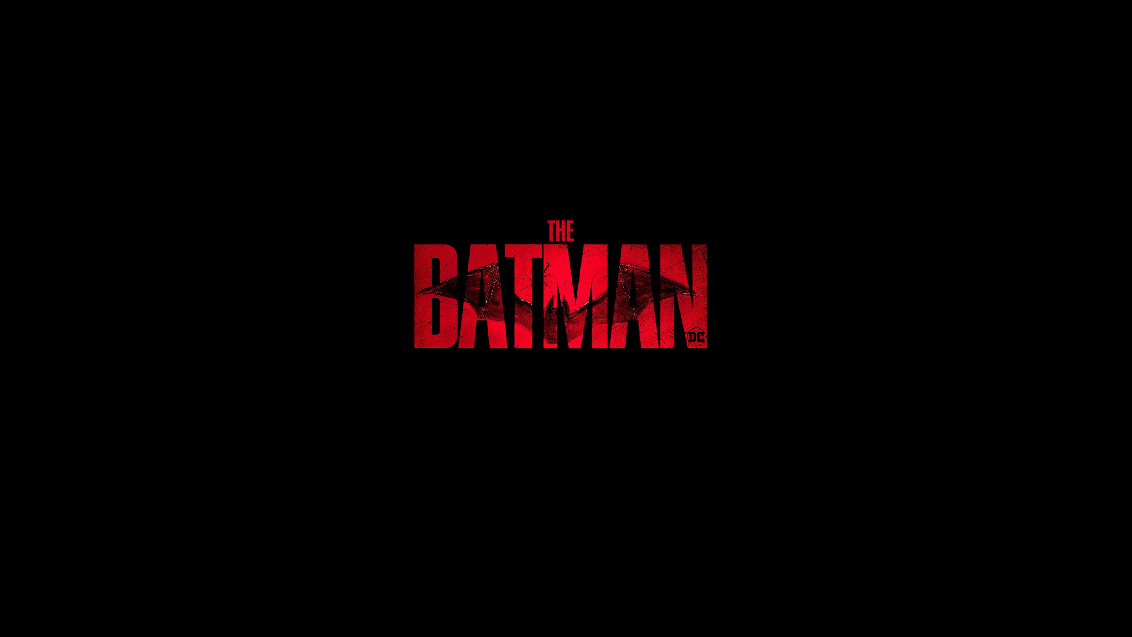 The Batman 2021 Logo Wallpapers 3840x2160