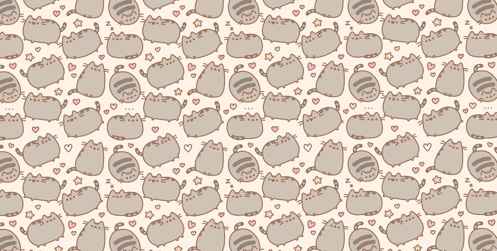 49 Pusheen Cat Desktop Wallpaper on WallpaperSafari