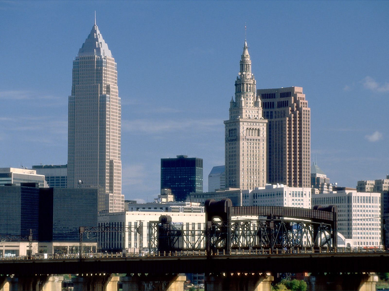 downtown cleveland ohio wallpaper - photo #13