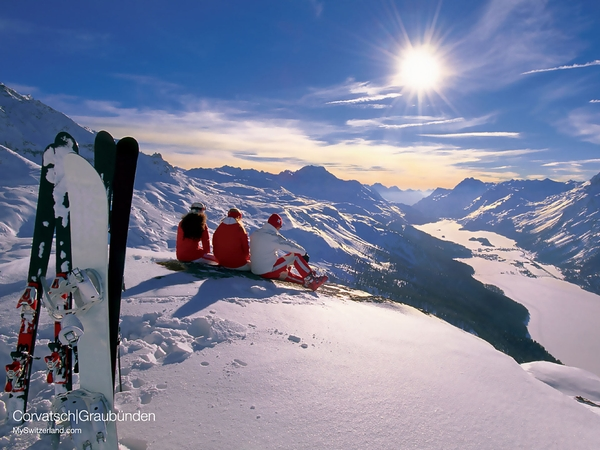 mountains snow snowboarding 1920x1440 wallpaper Sports Snowboarding HD 600x450