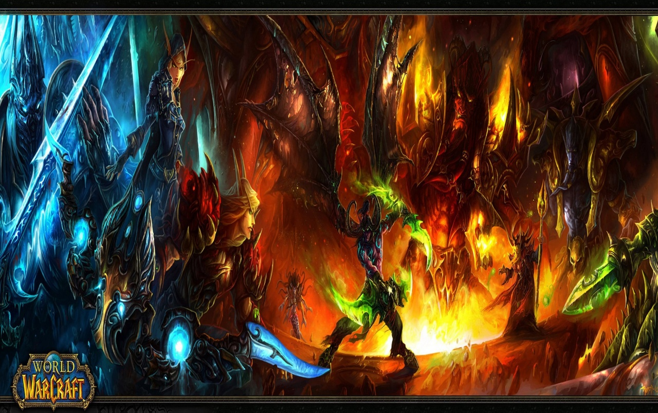 WOW Burning Crusade wallpapers WOW Burning Crusade stock photos 1280x804