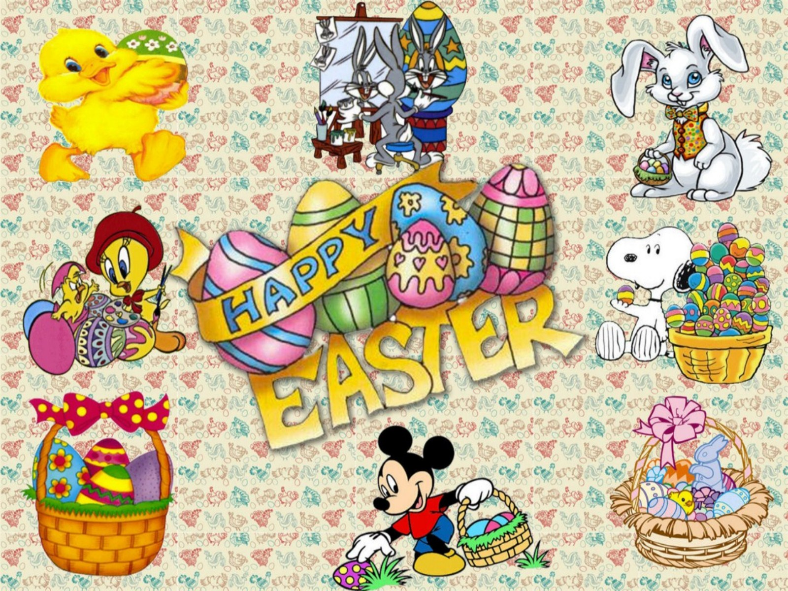 Free Disney Easter Wallpaper - WallpaperSafari