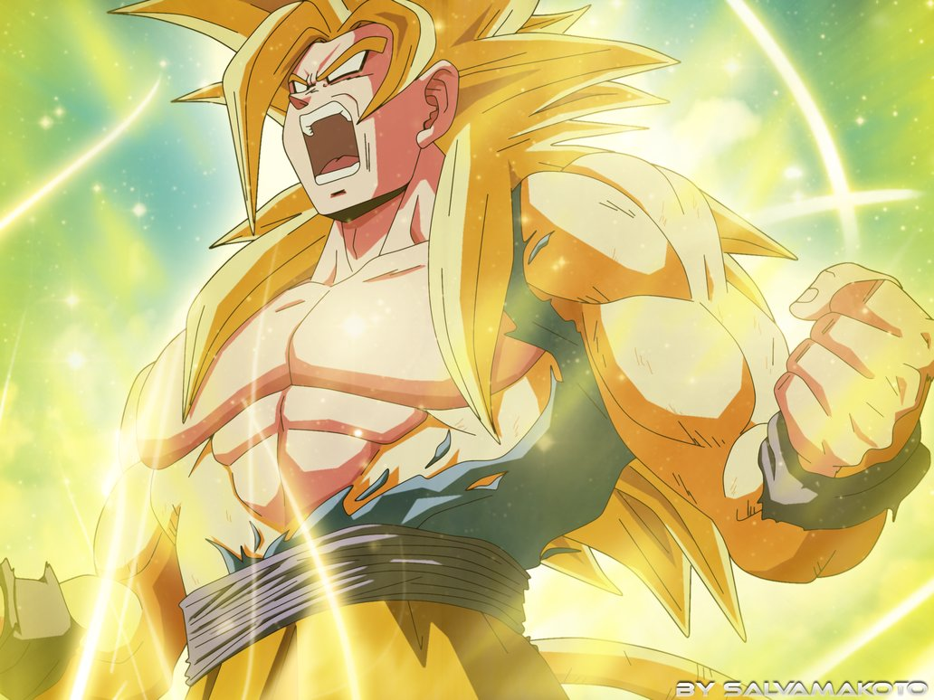 GOKU NEW SUPER SAIYAN by salvamakoto 1032x774