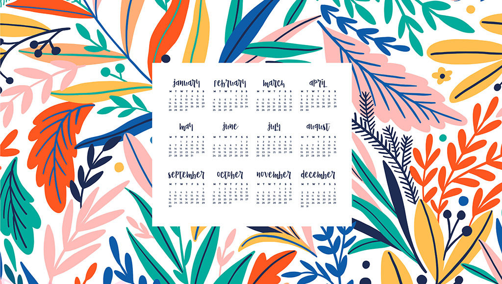 Free Download Free 2019 Desktop Calendars 12 Wallpaper