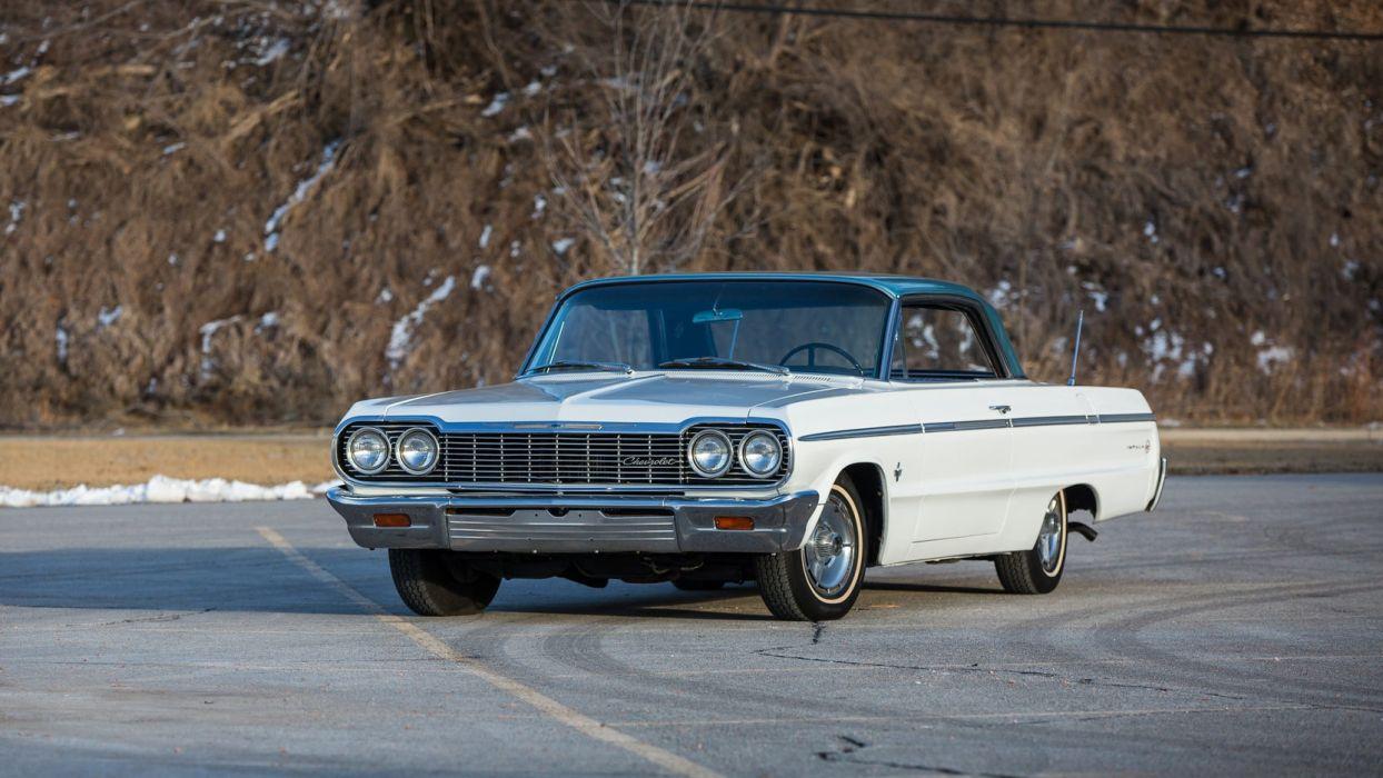 1964 CHEVROLET IMPALA ss cars white wallpaper 1664x936 1244x700