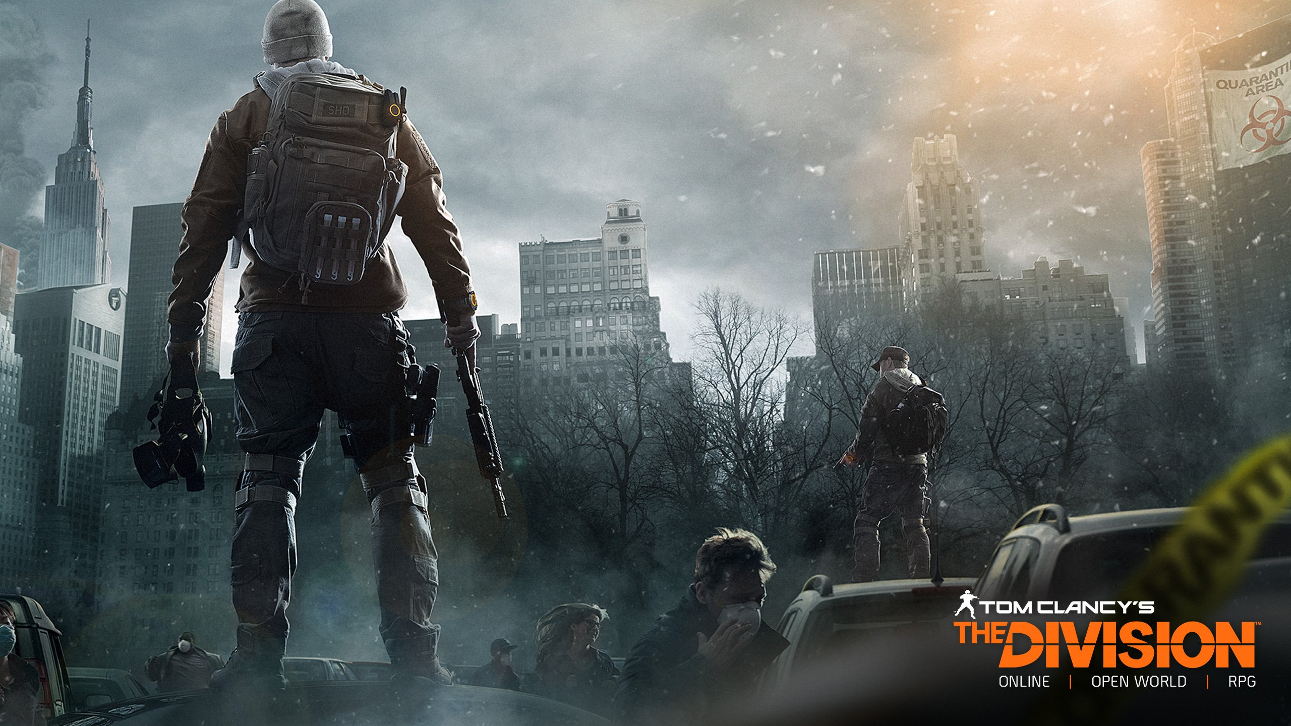 Tom Clancys The Division Game Wallpapers HD Wallpapers 2560x1440