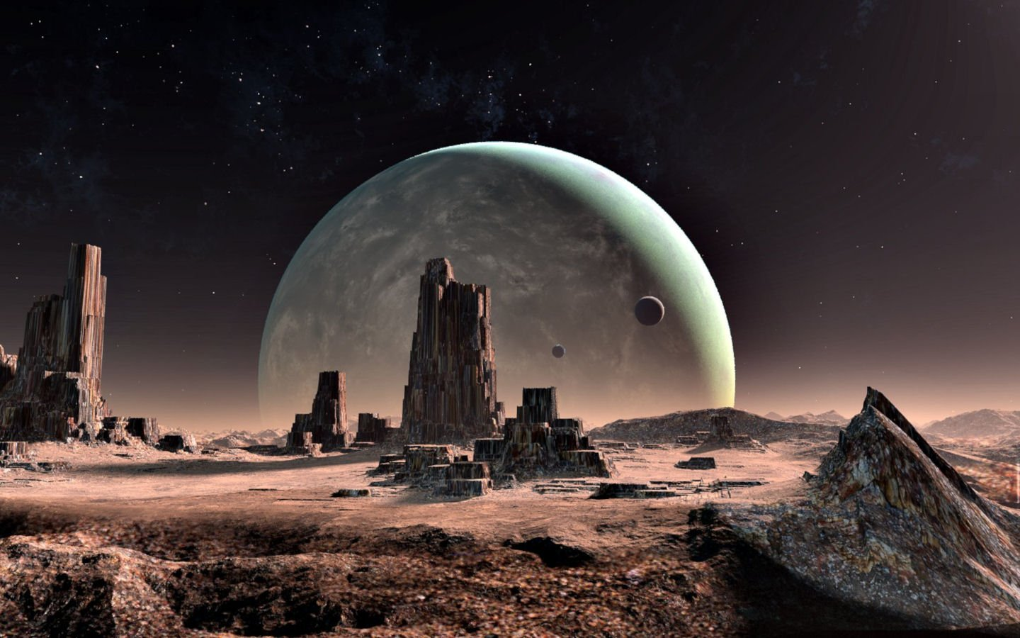 [48+] Alien Planet Landscapes Wallpaper on WallpaperSafari