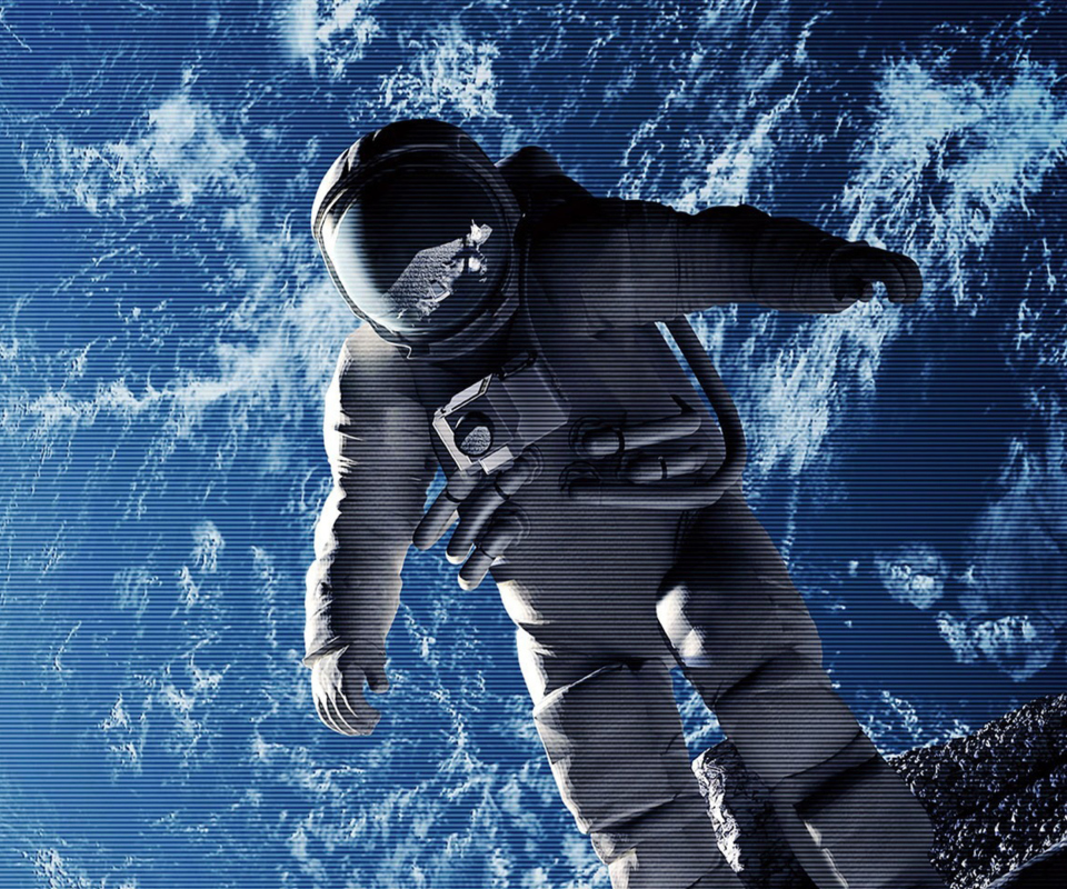 Wallpaper Space: Astronauts In Space Wallpaper
