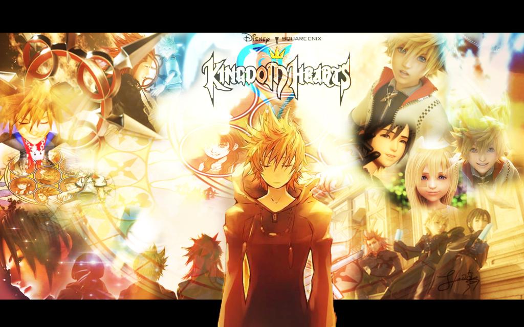 Kingdom Hearts Wallpaper Roxas By KaoYoruse 1024x640