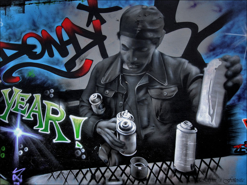 Graffiti Art Wallpaper 1024x768