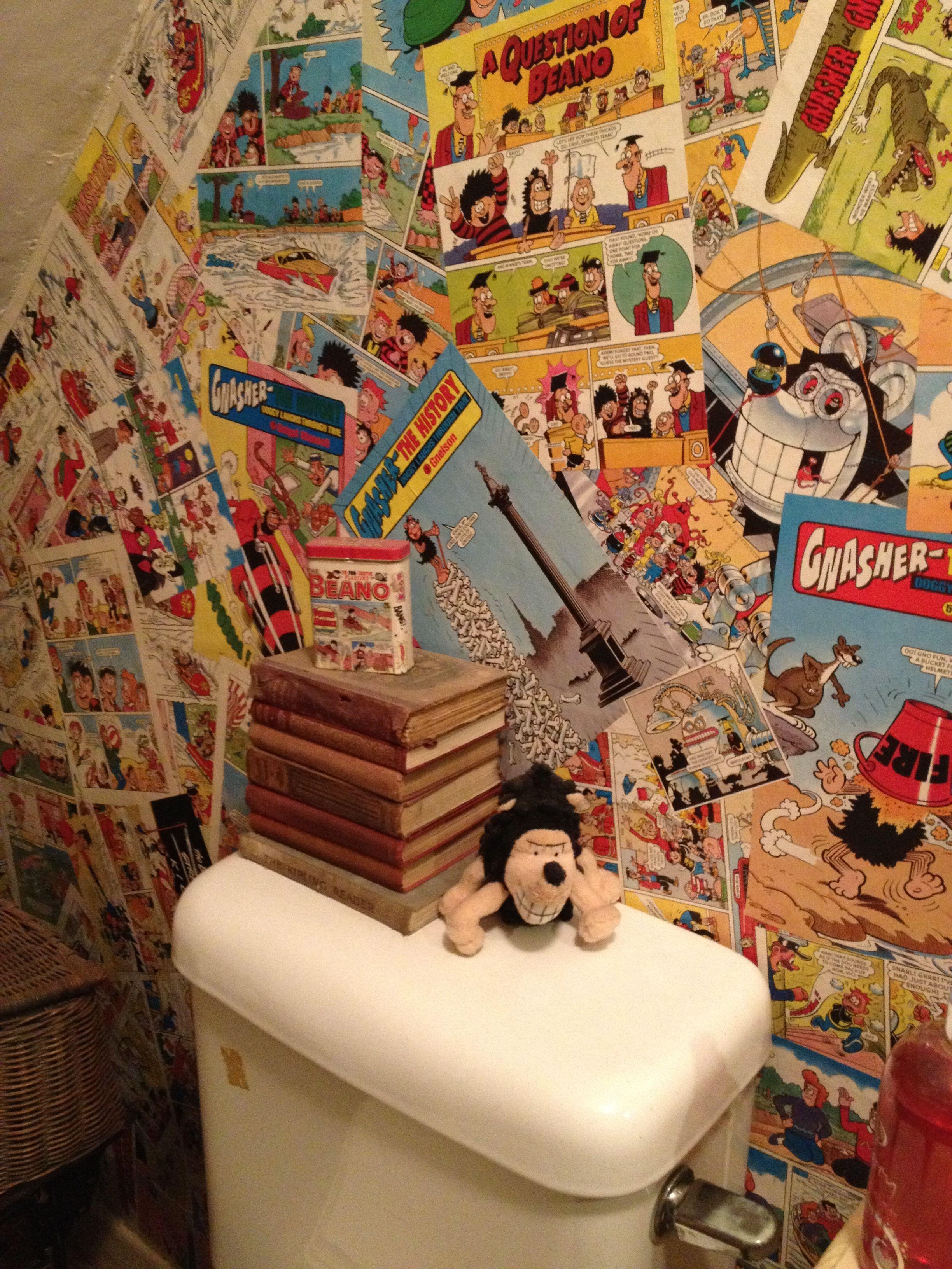 Comic wallpaper Future Room Toilet Wallpaper Room 2448x3264