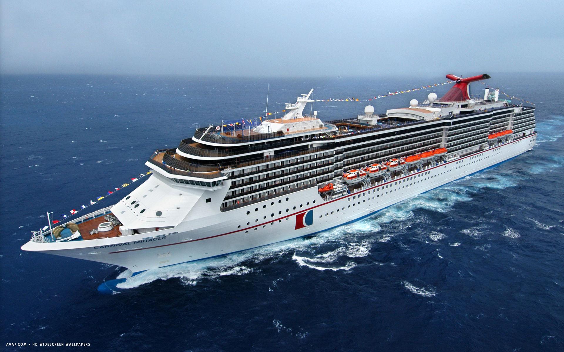 carnival miracle cruise ship hd widescreen wallpaper cruise ships 1920x1200