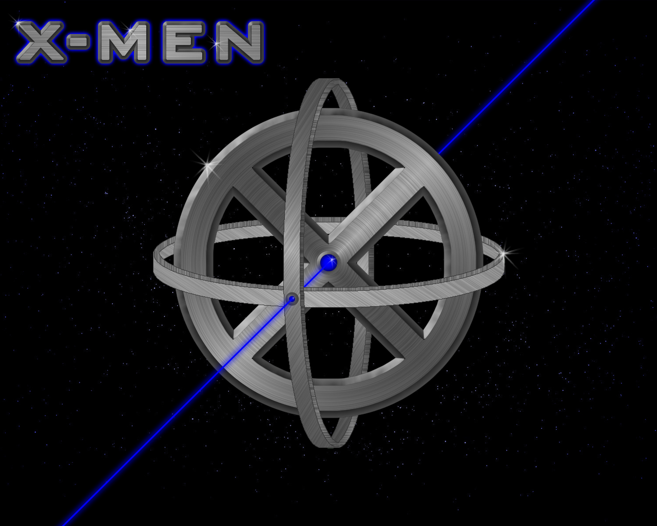 Men Logo in Space by CBU2029 1280x1024
