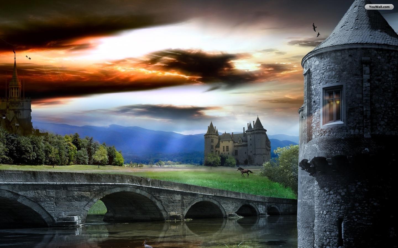 Medieval Castle Wallpaper   wallpaperwallpapersfree wallpaper 1440x900