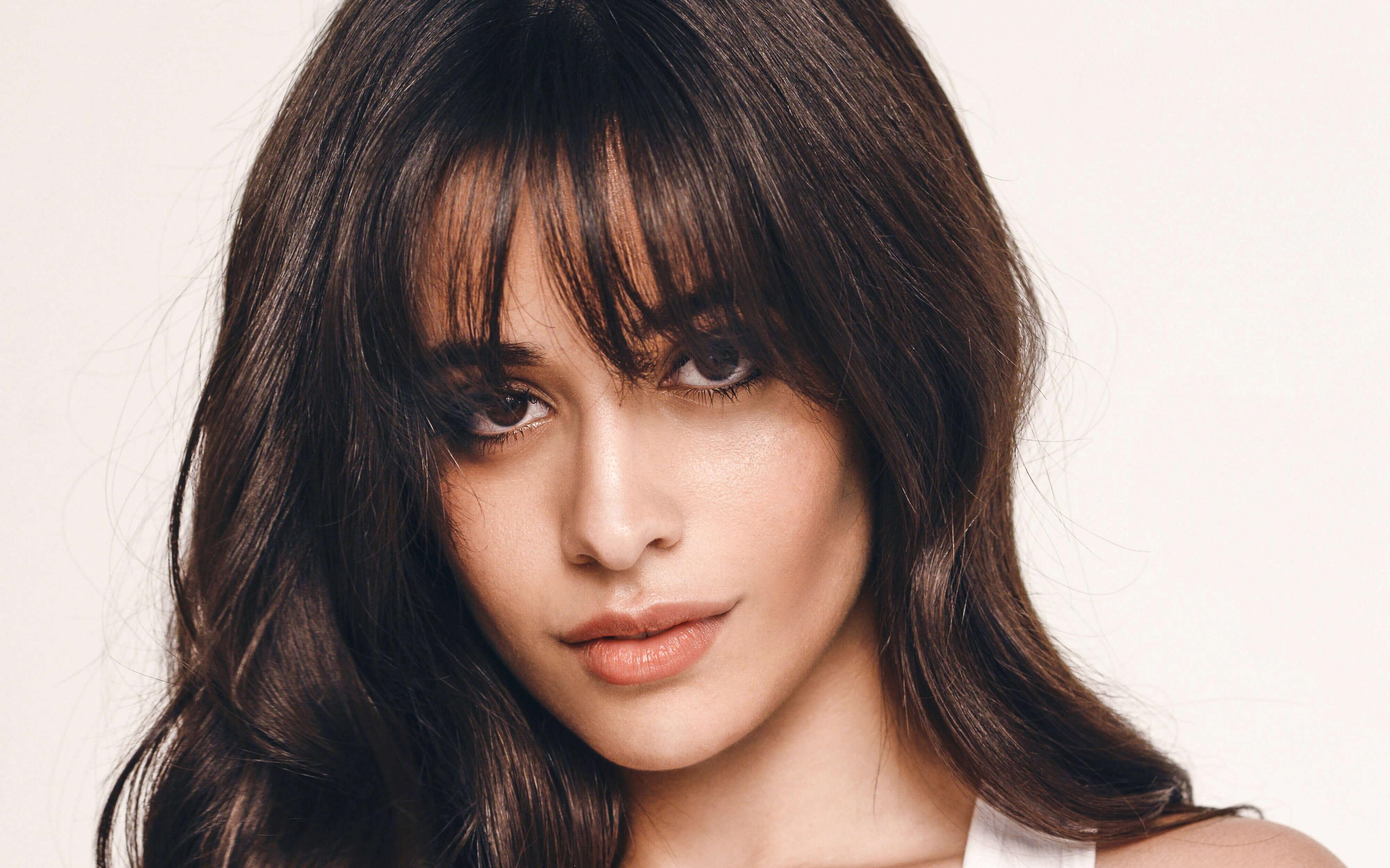 4K Camila Cabello Face Wallpaper 64581 4000x2500px 4000x2500