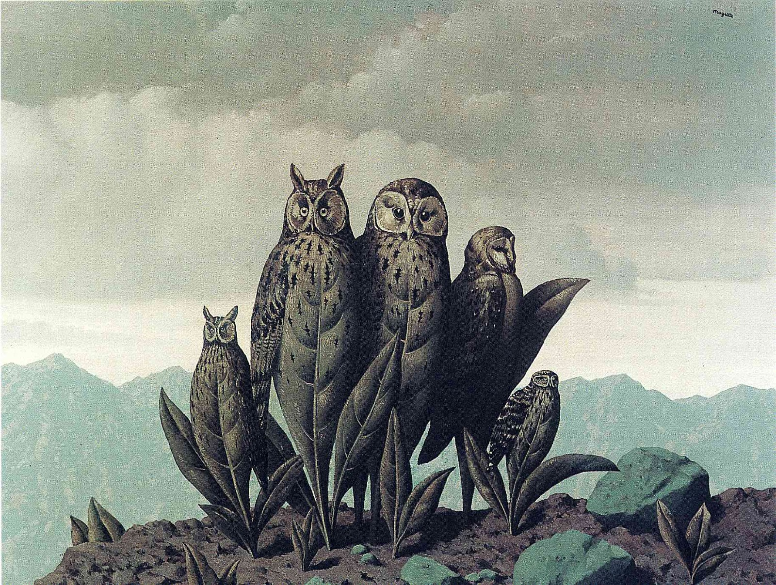 Magritte Wallpapers 1600x1207