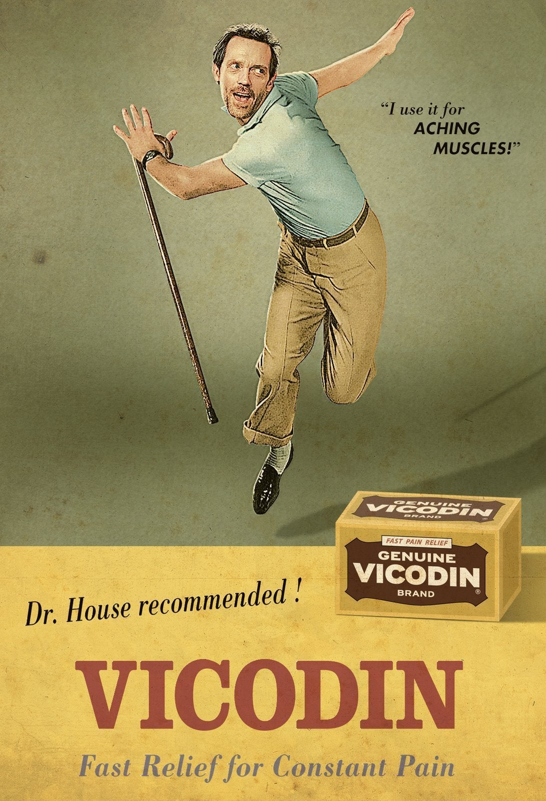 Dr House recommends Vicodin HouseMD 1091x1600