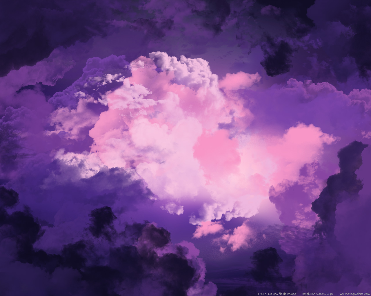 Two magical purple sky backgrounds PSDGraphics 1280x1024