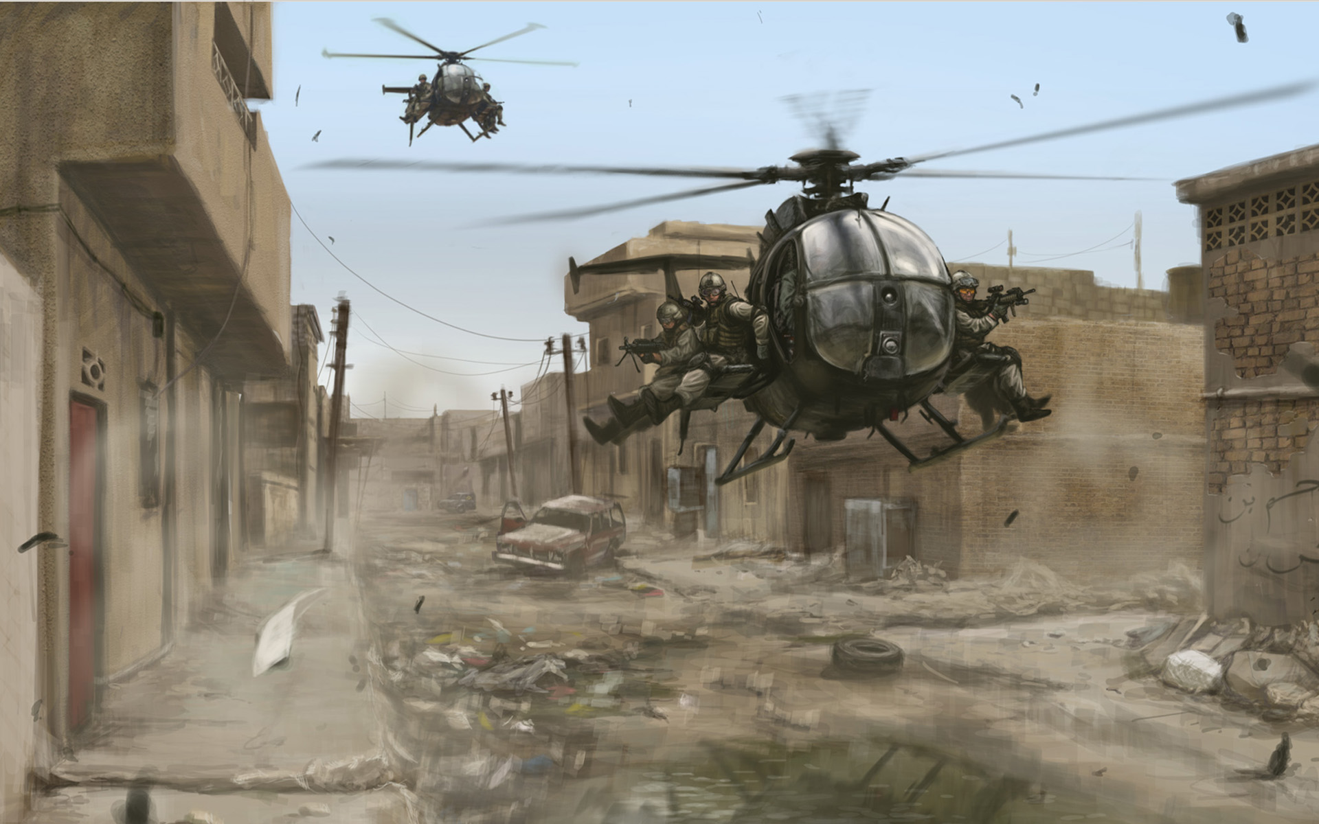 Pics Photos   Helicopter Soldiers Military Wallpaper 1920x1200