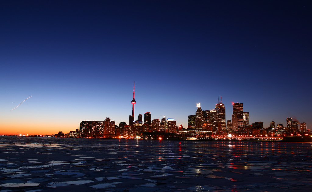Downtown Toronto Wallpaper 1024x630