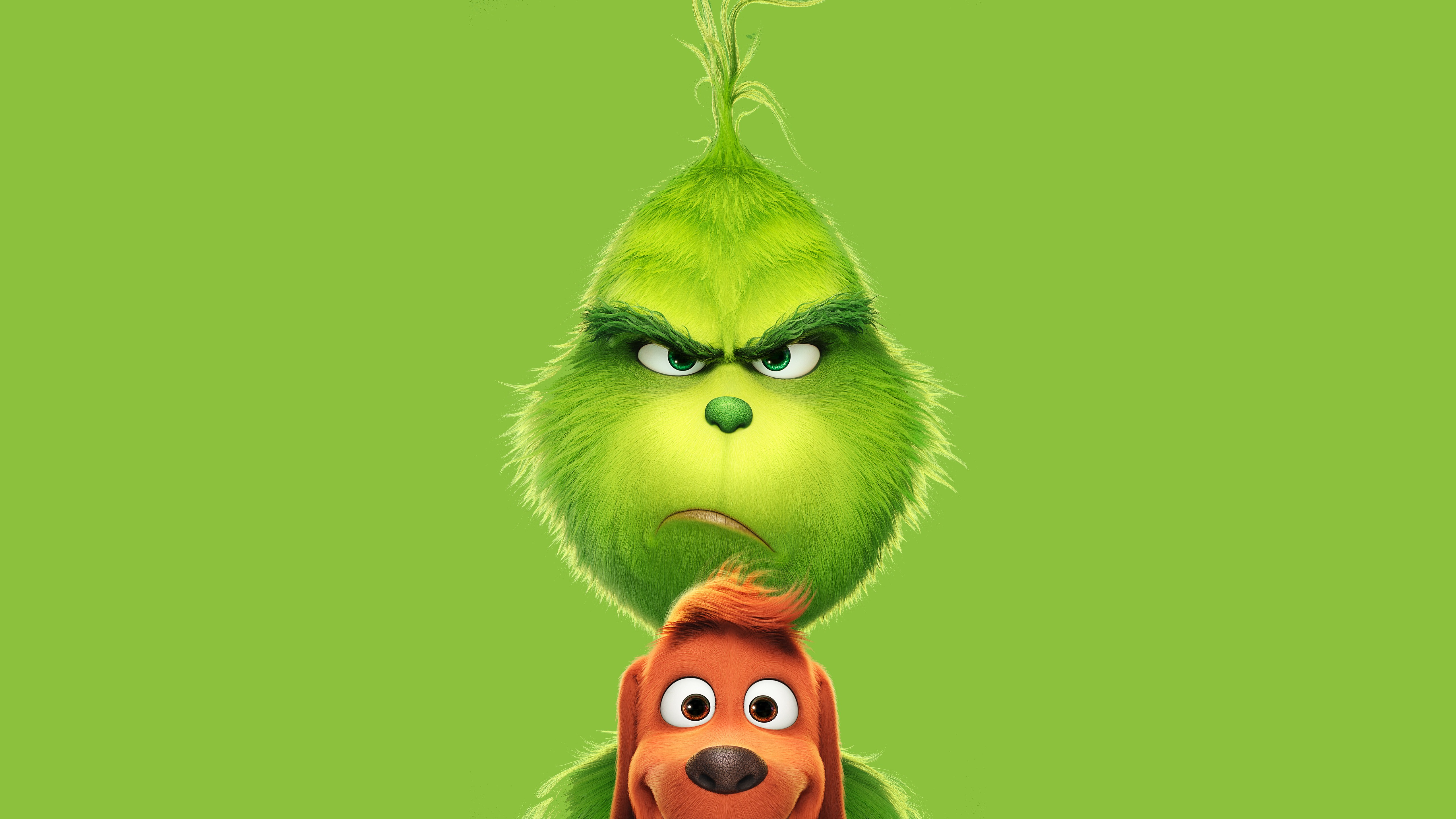 The Grinch Fantasy Movie 5K Wallpaper HD Wallpapers 5120x2880