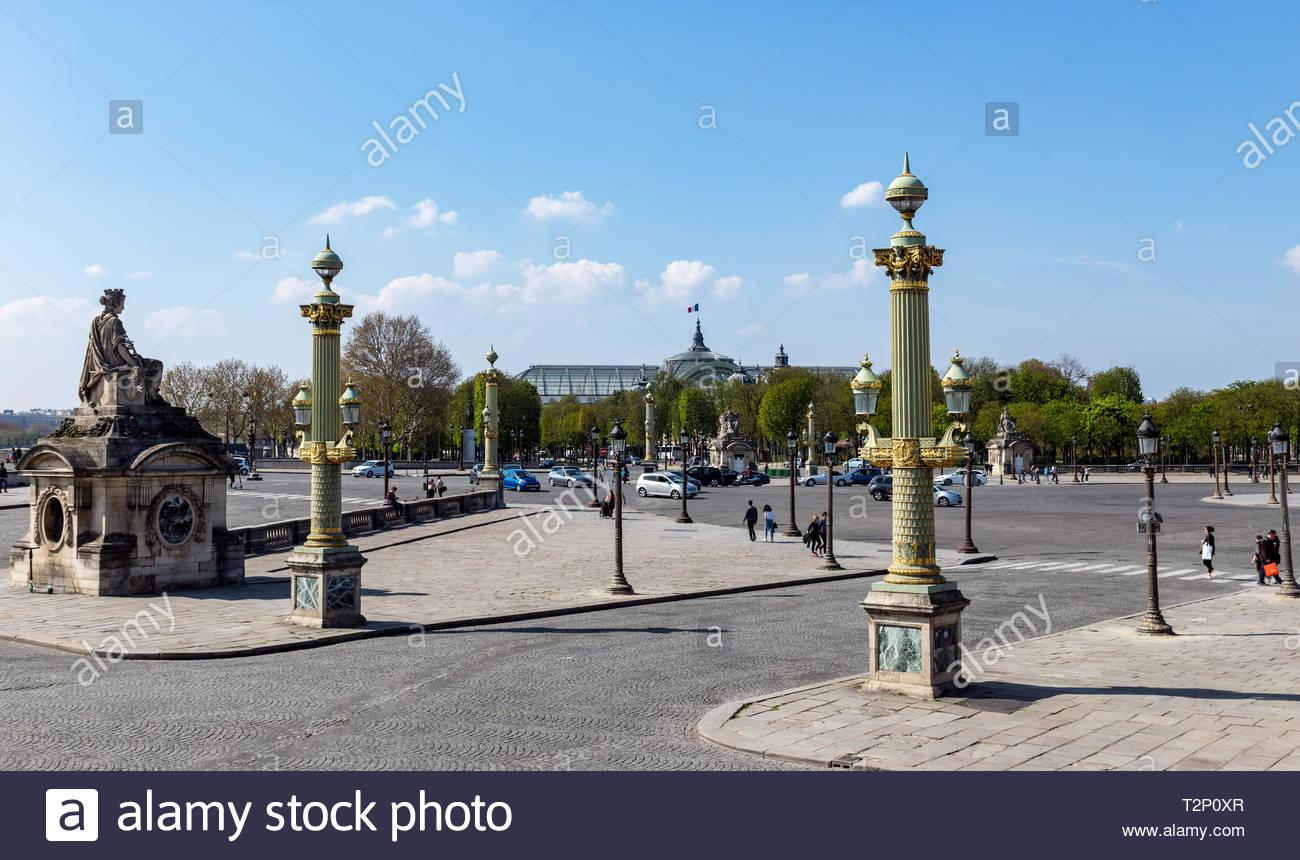 Place de la Concorde with great palace in background   Paris Stock 1300x860