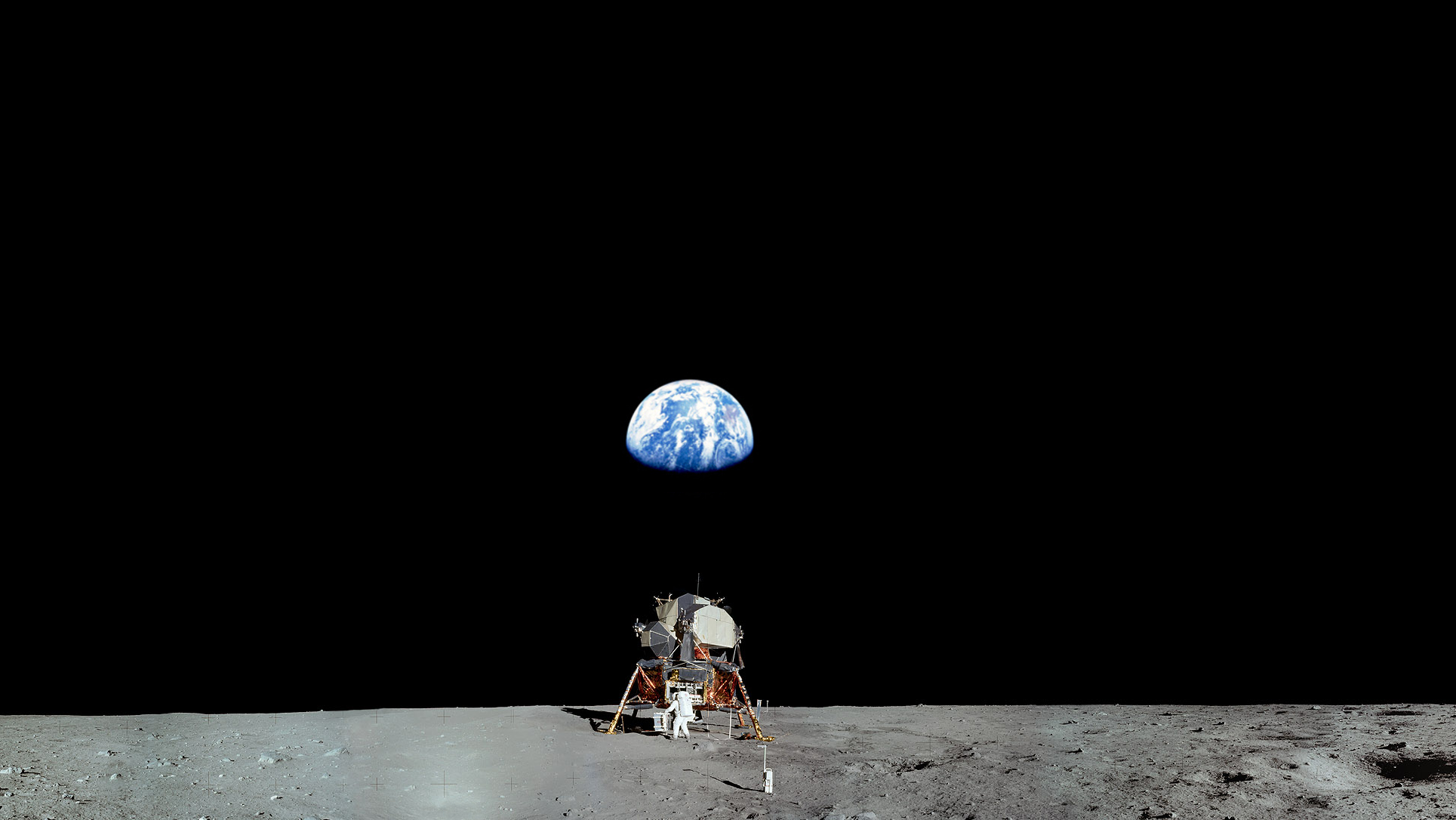 Earth from the Moon Wallpaper - WallpaperSafari