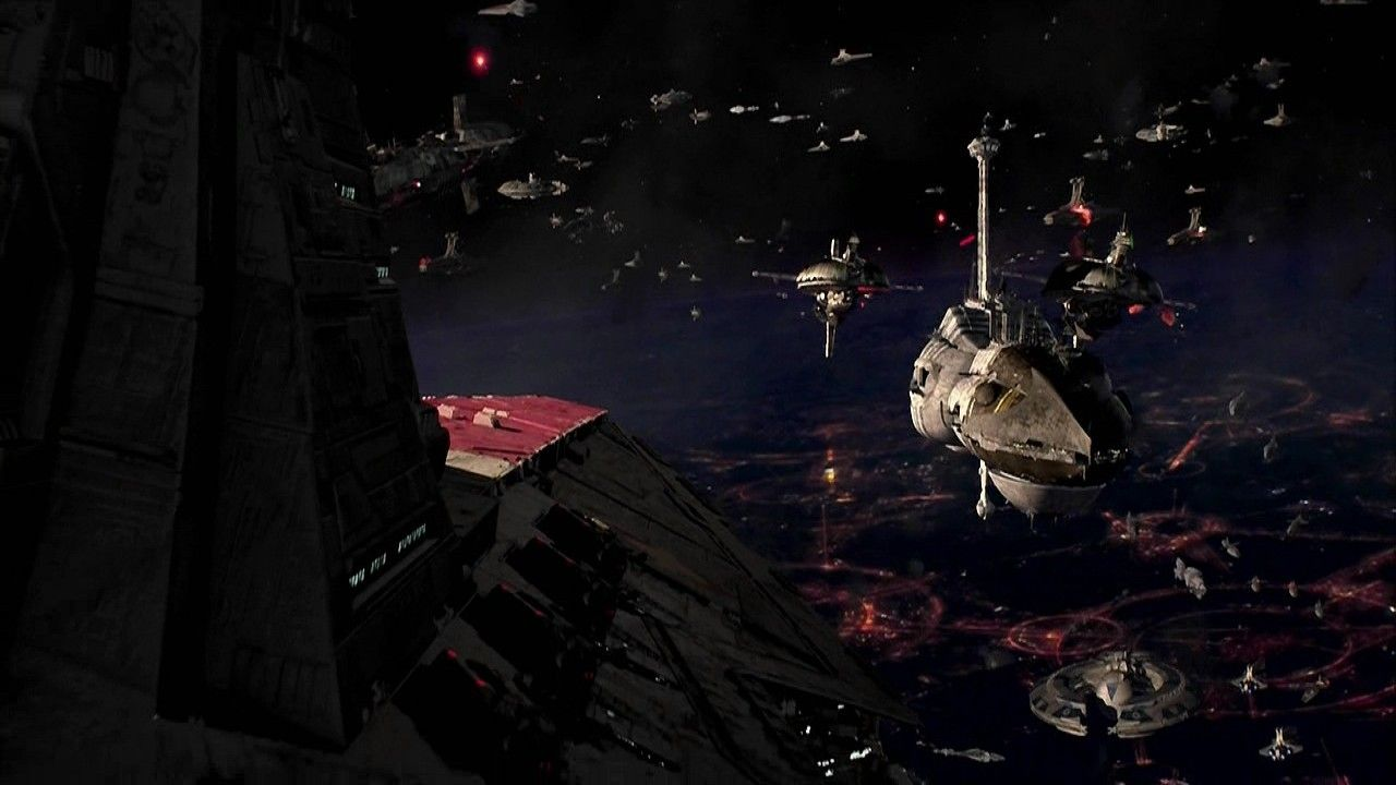 Images For Star Wars Space Battle Wallpaper 1280x720