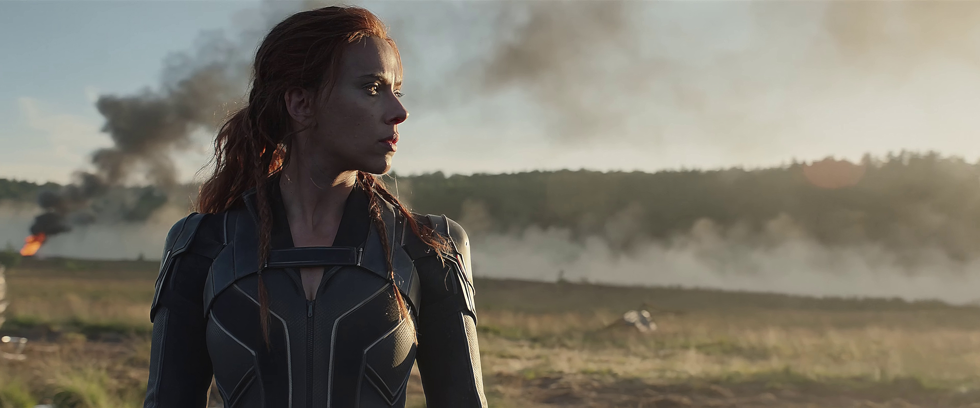 4K screencaps Fanart from Black Widow 2021 and a new poster 3840x1600