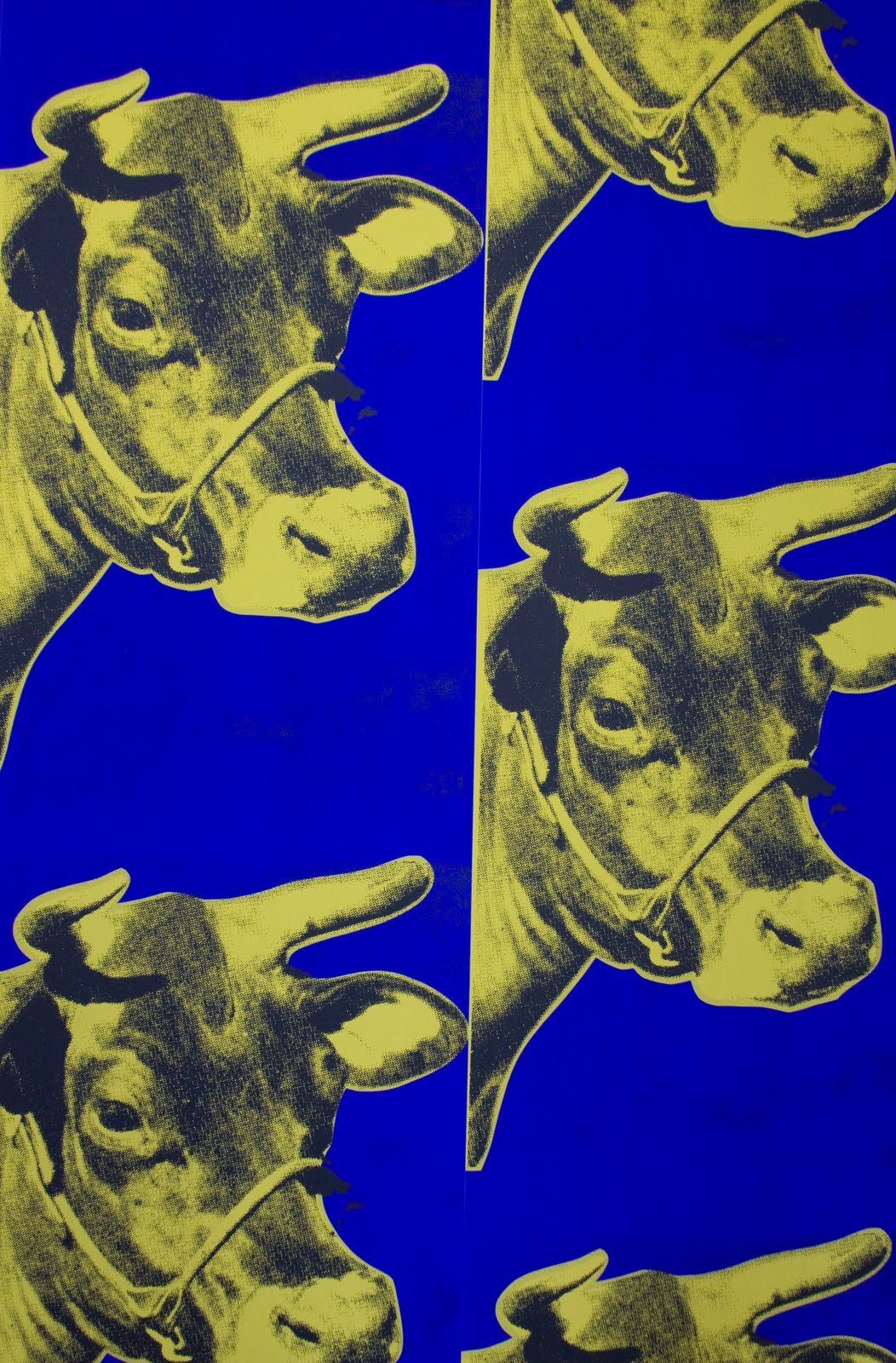 Andy Warhol Cow Wallpaper Andy warhol   cow wallpaper 1052x1600
