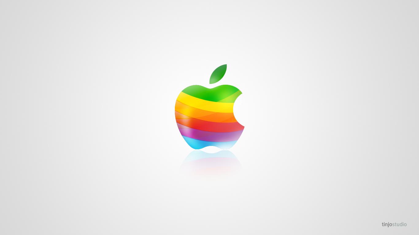 Cool Apple desktop PC and Mac wallpaper Cool Apple Logo Wallpaper Hd 1366x768