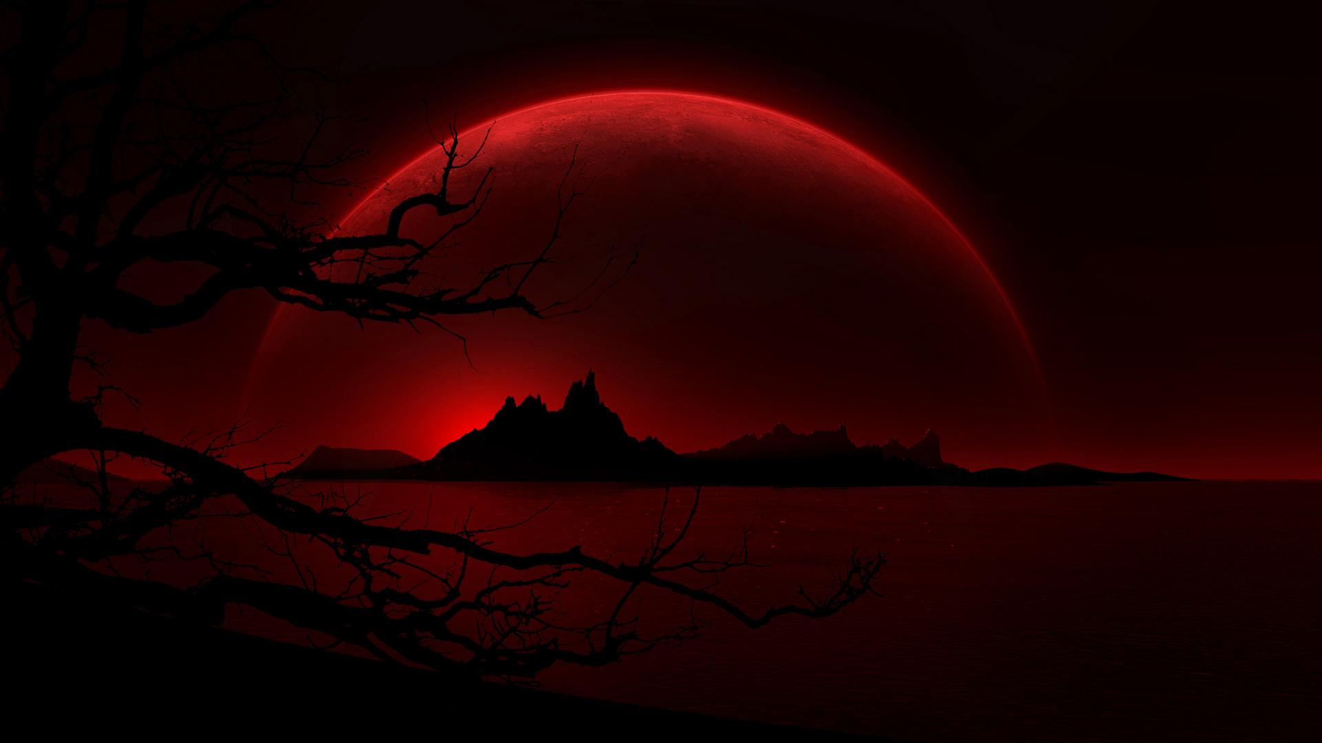 Blood Red Wallpaper - WallpaperSafari