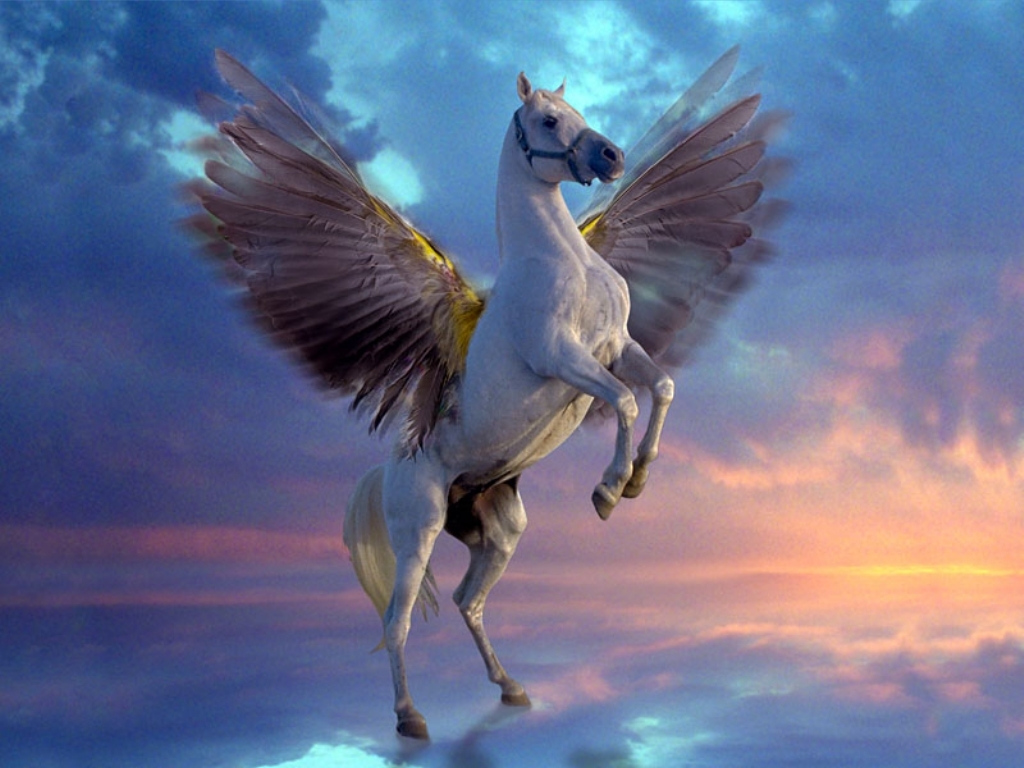 Pegasus   Greek Mythology Wallpaper 2887706 1024x768