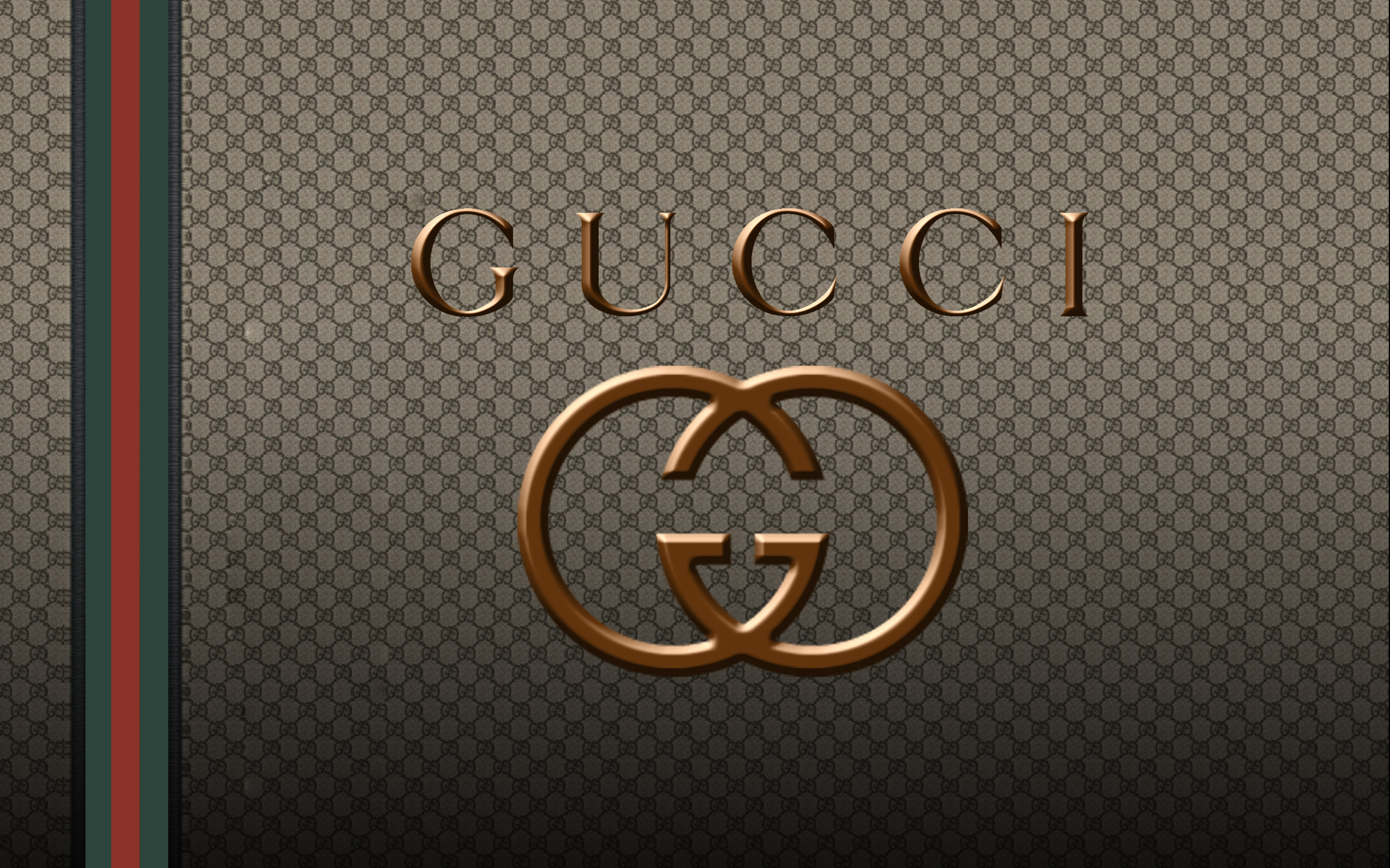Gucci Logo Wallpapers HD 2560x1600