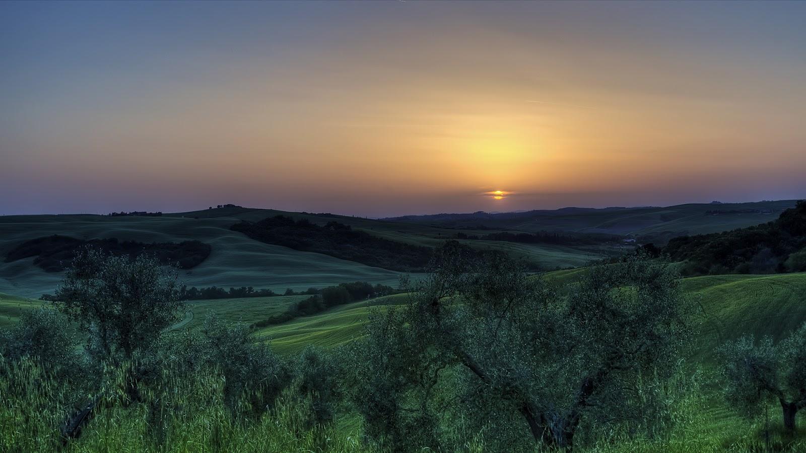 HD Sunset Wallpapers Nature Background for Laptop Desktop Widescreen 1600x900