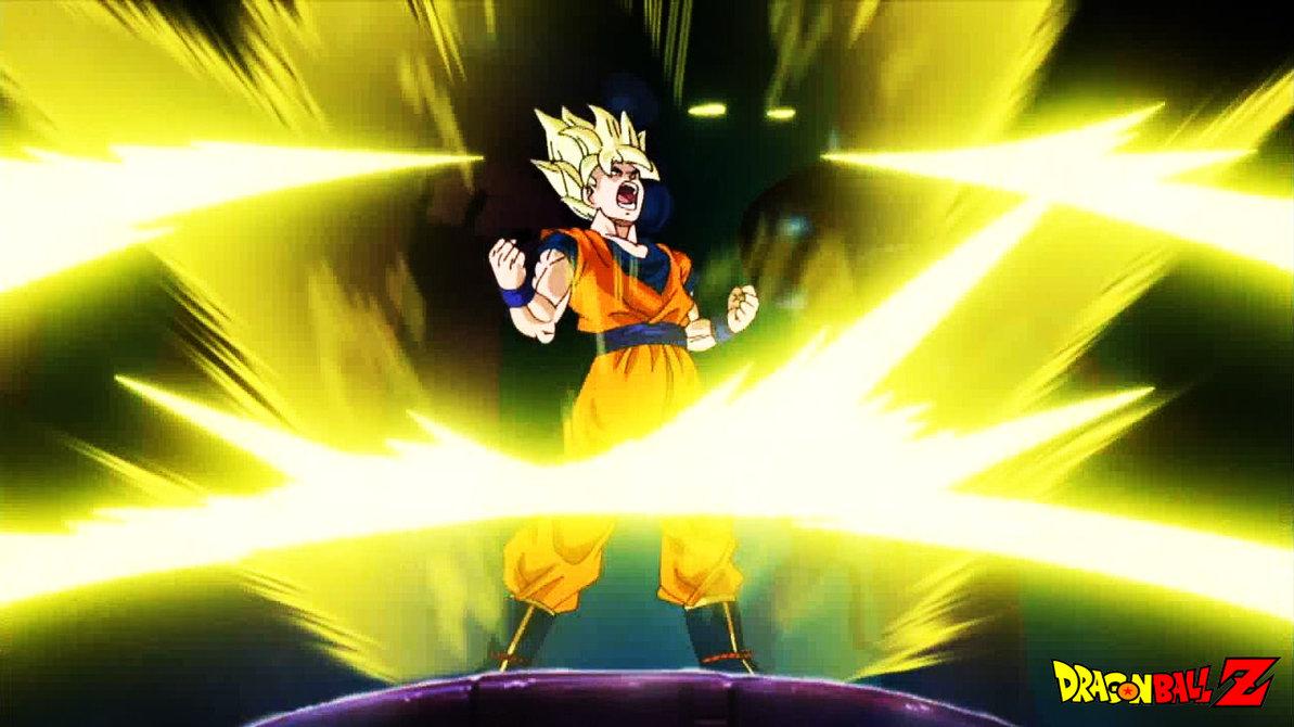 Goku Powering up Goku 39 s Power up 2 by 1193x670