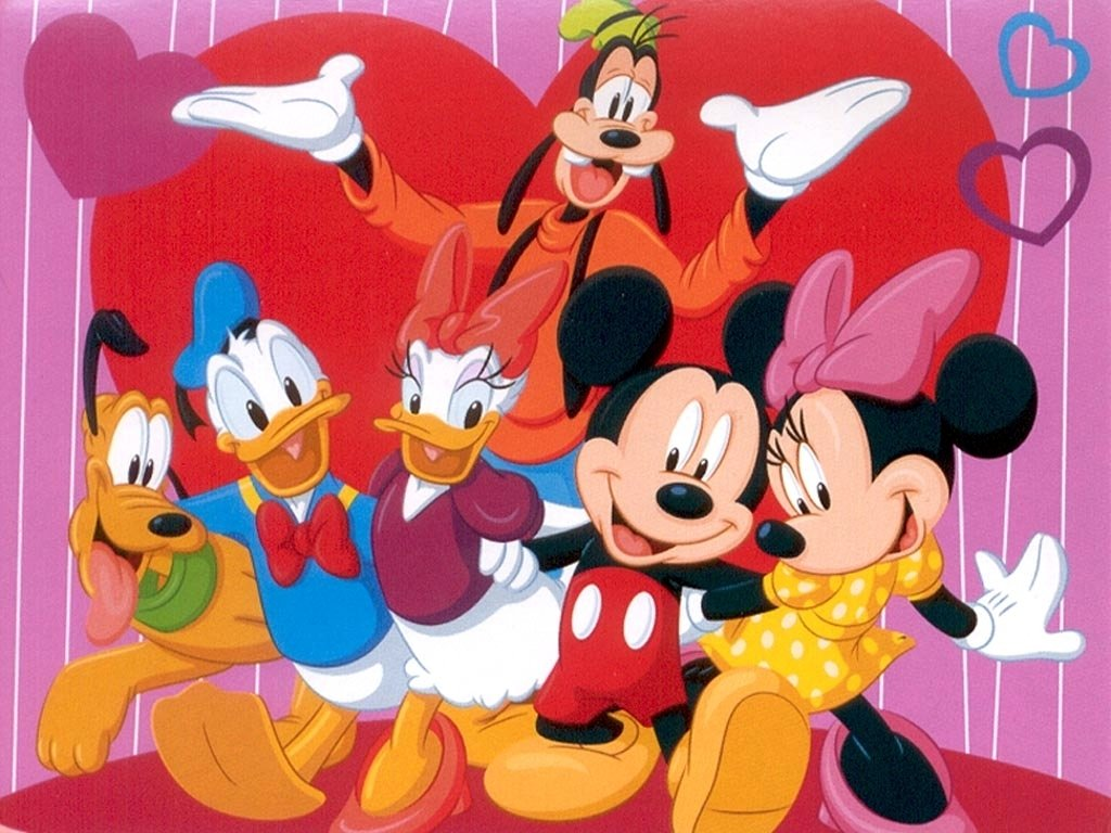 Valentines Day Wallpaper photos of romantic disney walentines day 1024x768