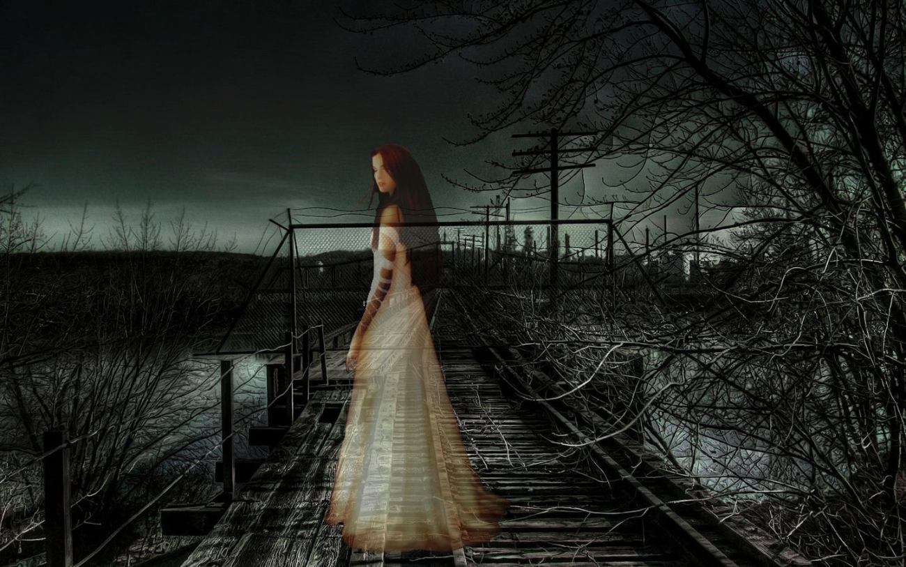 Ghost Girl Scary Hd Wallpaper photos Scary Wallpapers HD And Enjoy The 1300x813