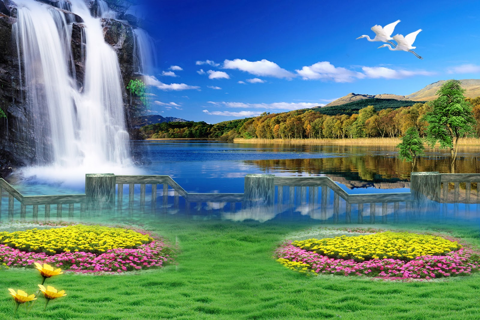 Photoshop Nature Backgrounds Just For You   Photoshop Wallpapers 1600x1067