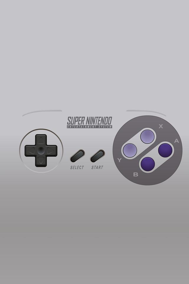 Super Nintendo Controller iPhone 4 Wallpaper 640x960 640x960