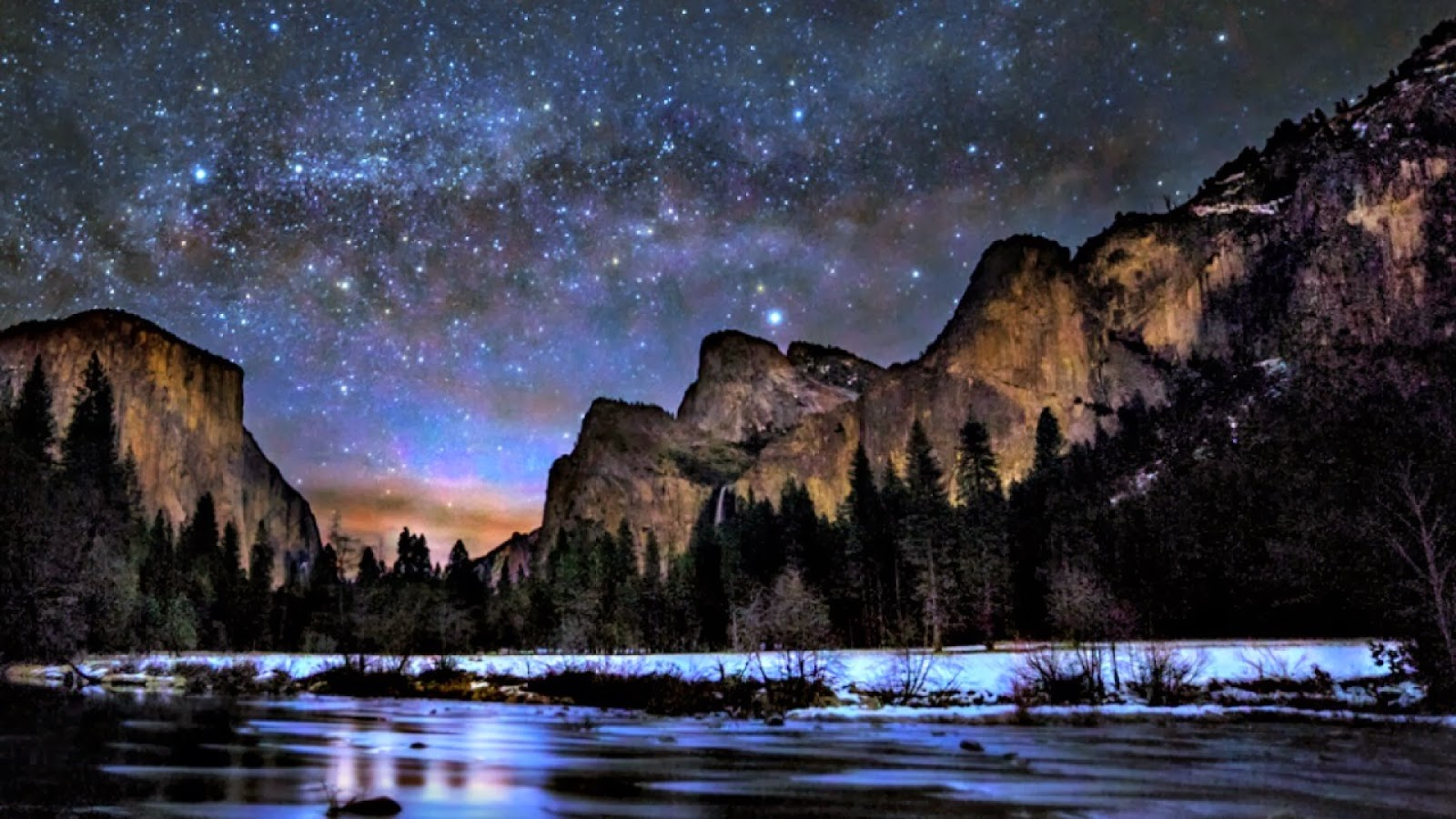 Travel Trip Journey Yosemite Valley California USA 1600x900