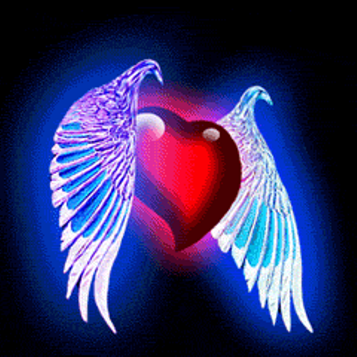 Amazoncom Heart with Wings Live Wallpaper Appstore for Android 512x512