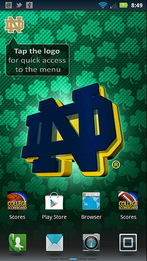Notre Dame Revolving Wallpaper   screenshot 480x854